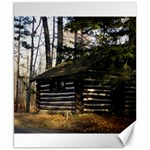 Cabin At The Pennsylvania Grand Canyon  by Ave Hurley  Canvas 8  x 10