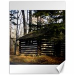 Cabin At The Pennsylvania Grand Canyon  by Ave Hurley  Canvas 12  x 16