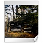 Cabin At The Pennsylvania Grand Canyon  by Ave Hurley  Canvas 16  x 20