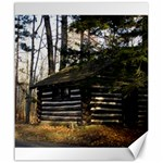 Cabin At The Pennsylvania Grand Canyon  by Ave Hurley  Canvas 20  x 24