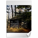 Cabin At The Pennsylvania Grand Canyon  by Ave Hurley  Canvas 20  x 30