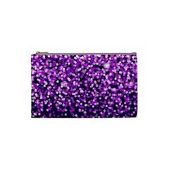 Purple Rain Cosmetic Bag (small)  by KirstenStar