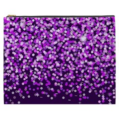 Purple Rain Cosmetic Bag (xxxl)  by KirstenStar
