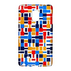 Colorful Shapes                                  samsung Galaxy Note Edge Hardshell Case by LalyLauraFLM
