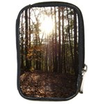 Forest - Pa Grand Canyon ~Leo Harris St Park by Ave Hurley - Compact Camera Leather Case