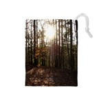 Forest - Pa Grand Canyon ~Leo Harris St Park by Ave Hurley - Drawstring Pouch (Medium)