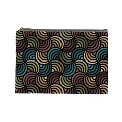 Glowing Abstract Cosmetic Bag (large)  by FunkyPatterns