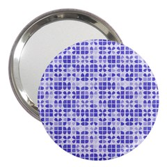 Pastel Purple 3  Handbag Mirrors by FunkyPatterns
