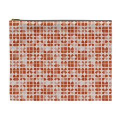Pastel Red Cosmetic Bag (xl) by FunkyPatterns