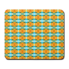 Dragonflies Summer Pattern Large Mousepads by Costasonlineshop