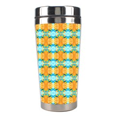 Dragonflies Summer Pattern Stainless Steel Travel Tumblers by Costasonlineshop