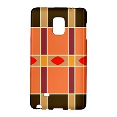 Shapes And Stripes                                                                 samsung Galaxy Note Edge Hardshell Case by LalyLauraFLM