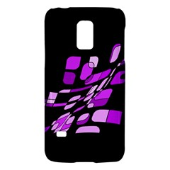 Purple Decorative Abstraction Galaxy S5 Mini by Valentinaart