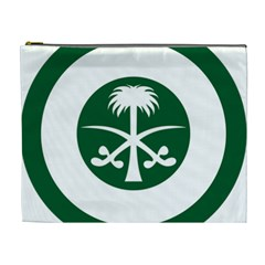 Roundel Of The Royal Saudi Air Force Cosmetic Bag (xl) by abbeyz71