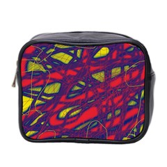 Abstract High Art Mini Toiletries Bag 2 Side by Valentinaart