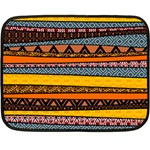 Colorful African Pattern Mixl Double Sided Fleece Blanket (Mini)