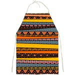 Colorful African Pattern Mixl Full Print Apron