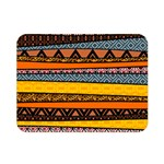 Colorful African Pattern Mixl Double Sided Flano Blanket (Mini)