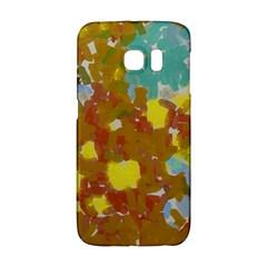 Paint Strokes                                                                                              samsung Galaxy S6 Edge Hardshell Case by LalyLauraFLM