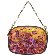 Falling Autumn Leaves Chain Purses (two Sides)