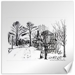 AH00293-1 Barn Near Corning By Ave Hurley Canvas 12  x 12