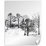 AH00293-1 Barn Near Corning By Ave Hurley Canvas 16  x 20
