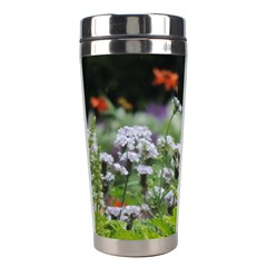 Wild Flowers Stainless Steel Travel Tumblers by picsaspassion