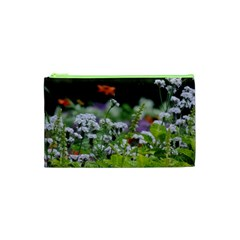 Wild Flowers Cosmetic Bag (xs) by picsaspassion