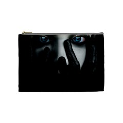 Black And White Cosmetic Bag (medium)