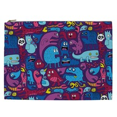 Mo Monsters Mo Patterns Cosmetic Bag (xxl)