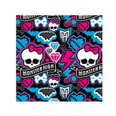 Monster High 03 Small Satin Scarf (square) by AnjaniArt
