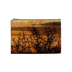 Colorful Sunset Cosmetic Bag (medium)  by picsaspassion