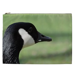 Goose, Black And White Cosmetic Bag (xxl)  by picsaspassion