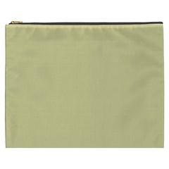 Brown Sand Color Design Cosmetic Bag (xxxl)  by picsaspassion