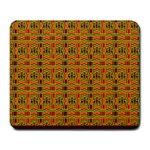 Colorful Kente Pattern2 Large Mousepad