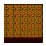 Colorful Kente Pattern2 Face Towel