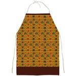 Colorful Kente Pattern  Full Print Apron