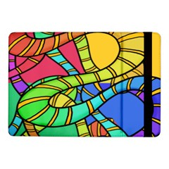 Abstrak Samsung Galaxy Tab Pro 10 1  Flip Case by AnjaniArt