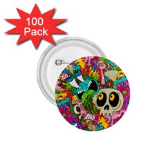 Sick Pattern 1 75  Buttons (100 Pack)