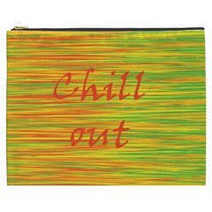 Chill Out Cosmetic Bag (xxxl)  by Valentinaart