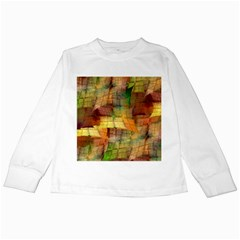 Indian Summer Funny Check Kids Long Sleeve T Shirts by designworld65