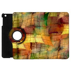 Indian Summer Funny Check Apple Ipad Mini Flip 360 Case by designworld65