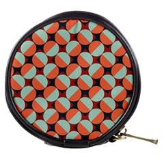 Modernist Geometric Tiles Mini Makeup Bags by DanaeStudio