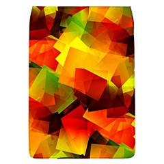 Indian Summer Cubes Flap Covers (l)  by designworld65