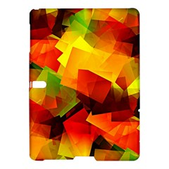 Indian Summer Cubes Samsung Galaxy Tab S (10 5 ) Hardshell Case  by designworld65