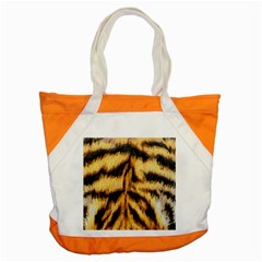 Tiger Fur Painting Accent Tote Bag