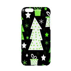 Green Playful Xmas Apple Iphone 6/6s Hardshell Case
