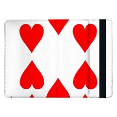 Cart Heart 10 Dieci Cuori Samsung Galaxy Tab Pro 12 2  Flip Case by AnjaniArt