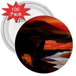 River Styx Gothic Fantasy Painting 3  Button (100 pack)