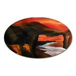 River Styx Gothic Fantasy Painting Magnet (Oval)